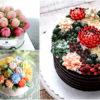 Розовый свадебный торт — идеи цветного оформления с фото